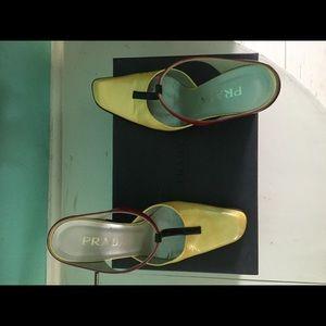 Prada Shoes - Prada Wedge Vintage